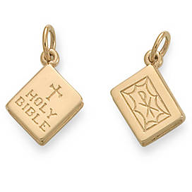 """Holy Bible"" Charm"