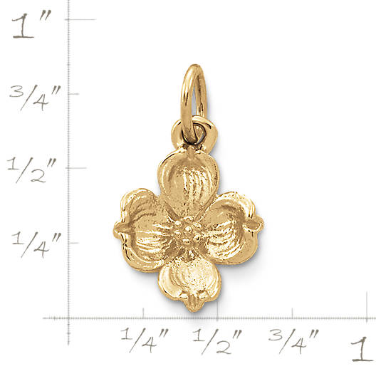 View Larger Image of Dogwood Flower Charm