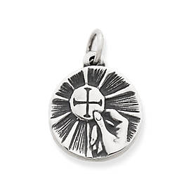 First Communion Medal Charm