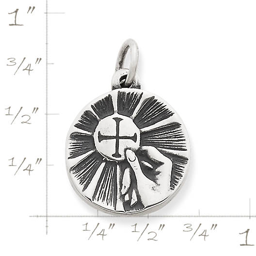 View Larger Image of First Communion Medal Charm