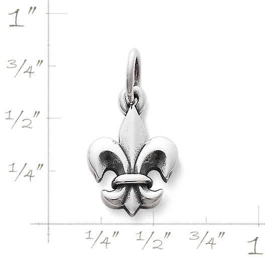 View Larger Image of Fleur-De-Lis Charm