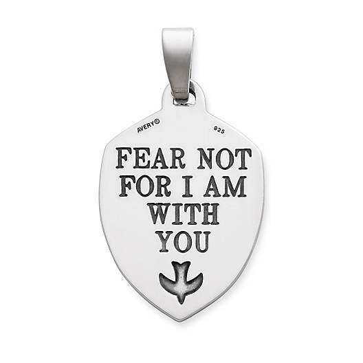 "View Larger Image of ""Fear Not..."" Pendant"