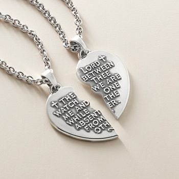 Two hearts connected I love You no matter where pendant Bracelet necklace