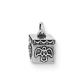 Angel Prayer Box Charm