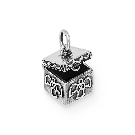 View Larger Image of Angel Prayer Box Charm