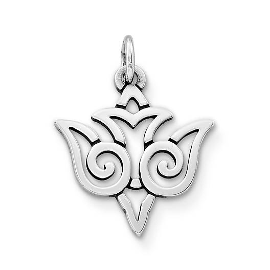 View Larger Image of Open Dove Charm