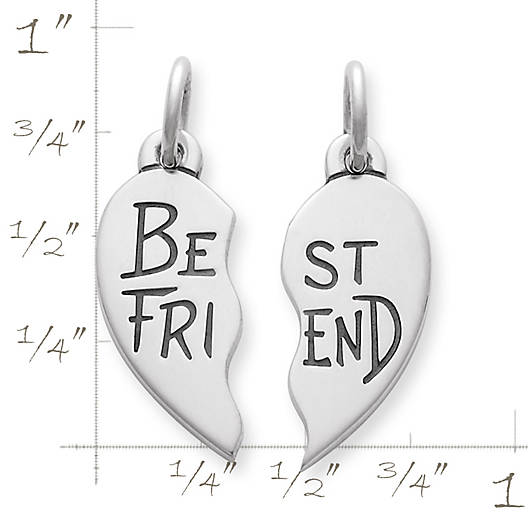 "View Larger Image of ""Best Friend"" Charm Set"