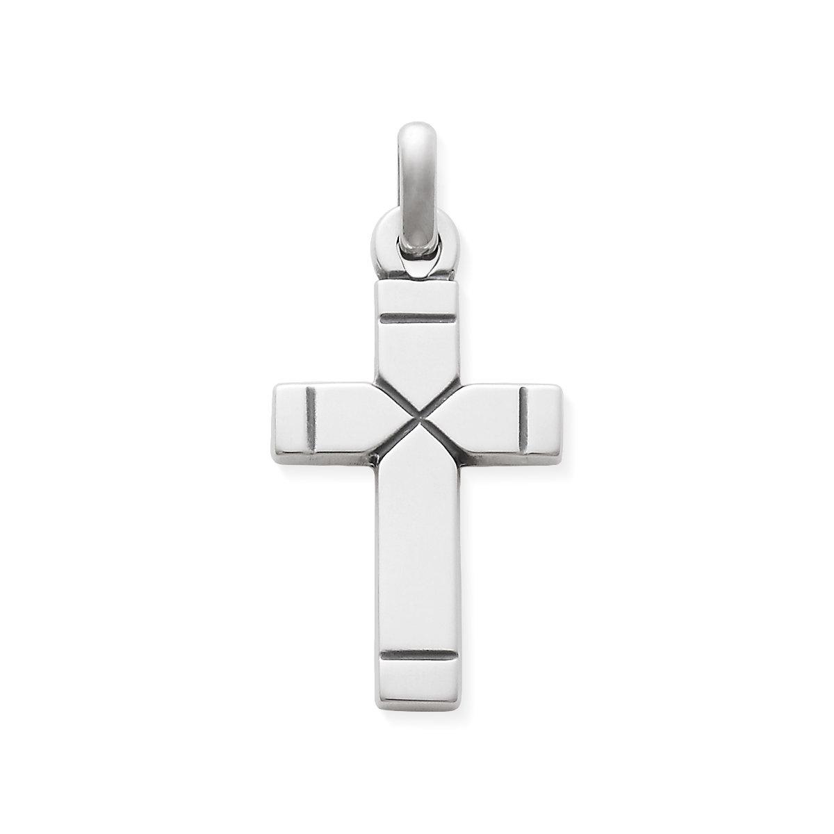 Chiseled cross pendant james avery plain latin cross medium aloadofball Image collections