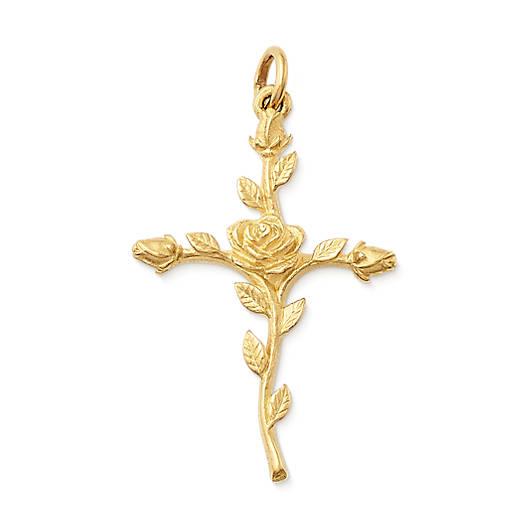 View Larger Image of Rosebud Cross