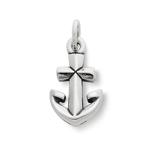 View Larger Image of Anchor Cross Charm