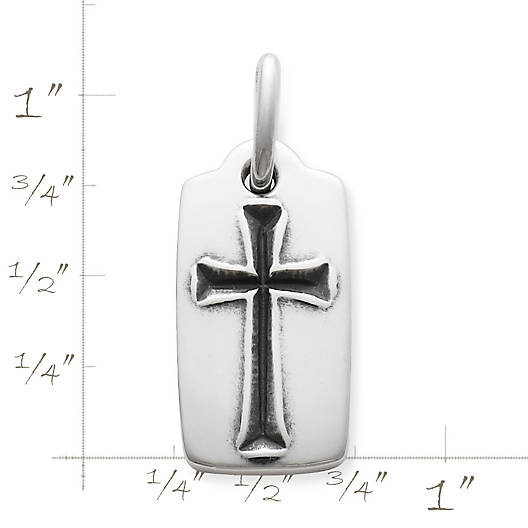 View Larger Image of Chiseled Cross Pendant