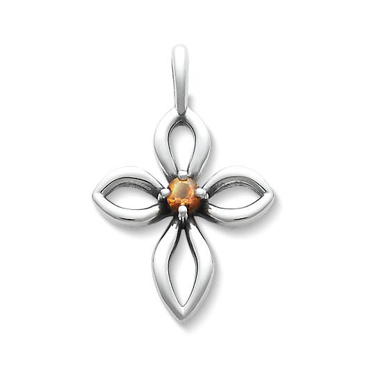 View Larger Image of Avery Remembrance Cross with Citrine