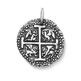 Evangelist Cross Pendant
