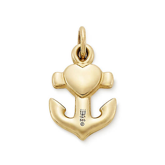 View Larger Image of Heart, Cross, & Anchor Charm