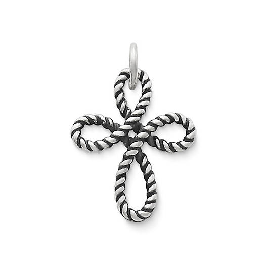 View Larger Image of Delicate Twist Cross