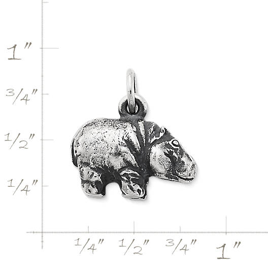 View Larger Image of Hippo Charm