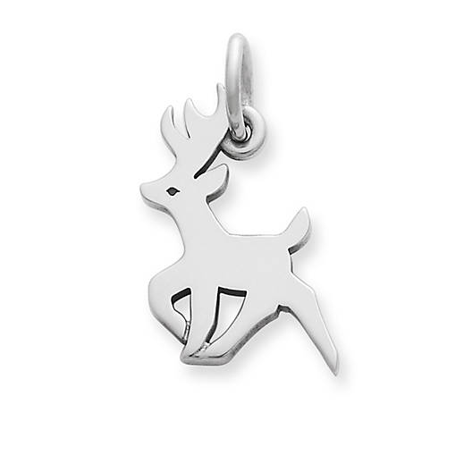 View Larger Image of Antlered Deer Charm