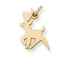 Antlered Deer Charm