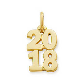 "Year ""2018"" Charm"