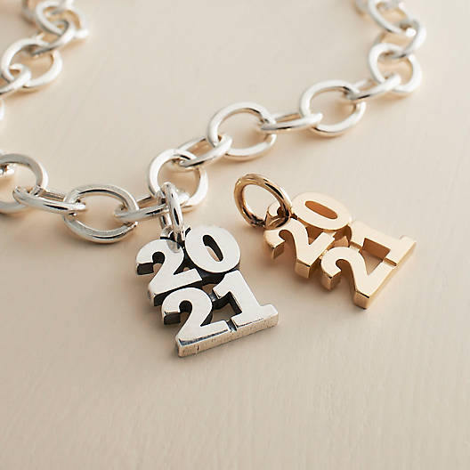 "View Larger Image of Year ""2021"" Charm"