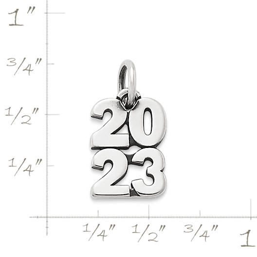 "View Larger Image of ""2023"" Year Charm"