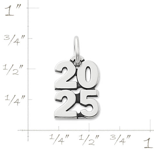 "View Larger Image of Year ""2025"" Charm"