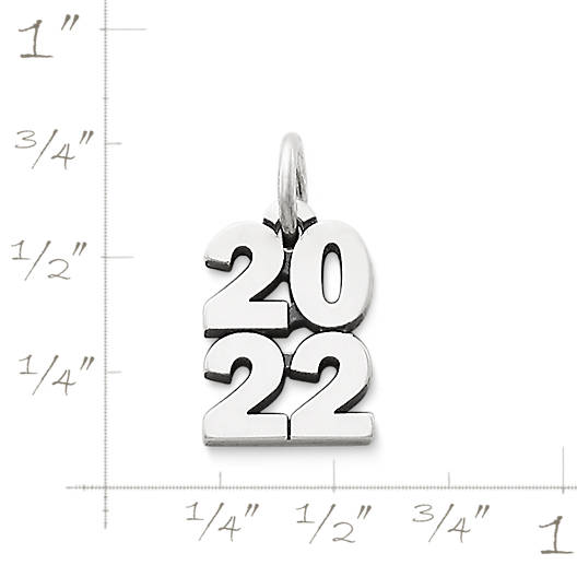 "View Larger Image of Year ""2022"" Charm"