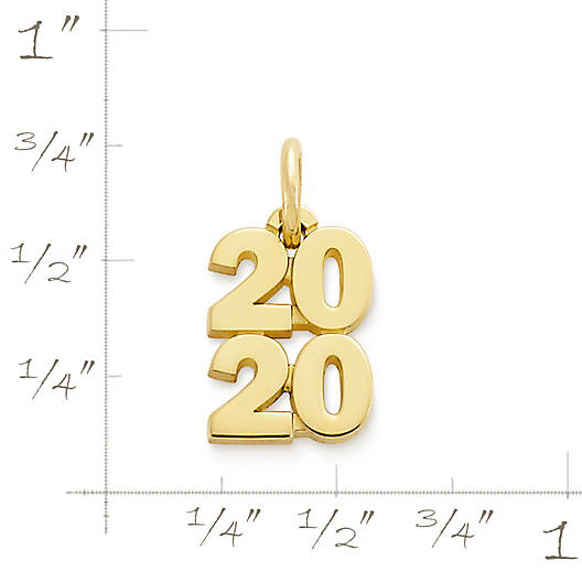 """View Larger Image of Year """"2020"""" Charm"""