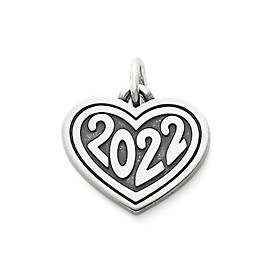 "Heart with ""2022"" Charm"
