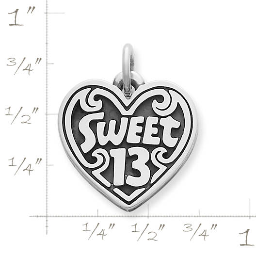 "View Larger Image of ""Sweet 13"" Charm"