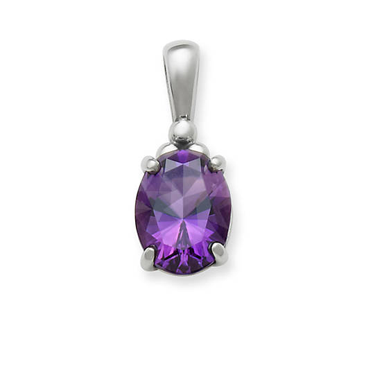 View Larger Image of Classic Amethyst Drop Pendant
