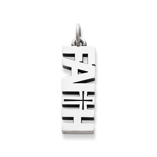 "View Larger Image of ""Faith"" Charm"