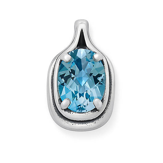 View Larger Image of Adriana Pendant with Blue Topaz