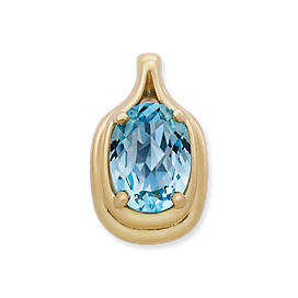 Adriana Pendant with Blue Topaz