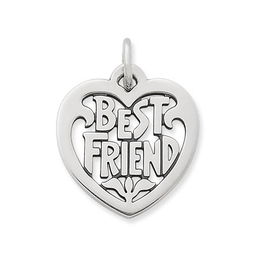 "View Larger Image of ""Best Friend"" Heart Charm"