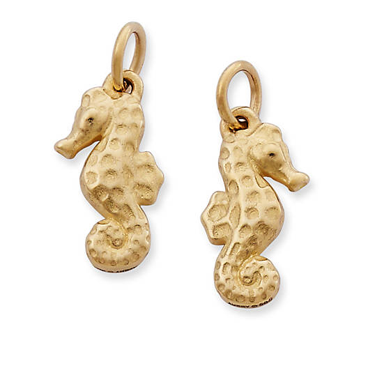 View Larger Image of Seahorse Charm