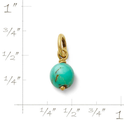 View Larger Image of Turquoise Bead Charm