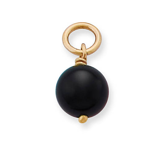 View Larger Image of Onyx Bead Charm