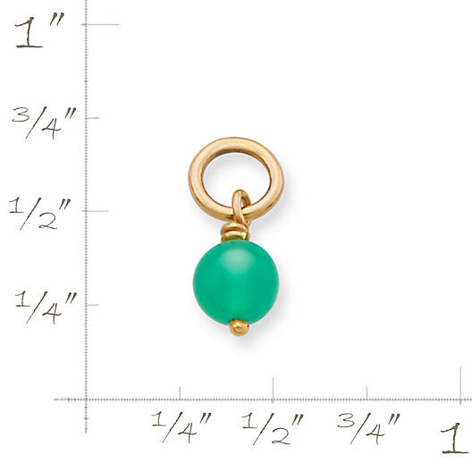 View Larger Image of Chrysoprase Bead Charm