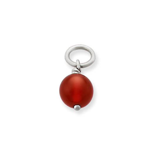 Red Carnelian Bead Charm