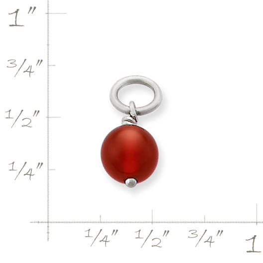 View Larger Image of Red Carnelian Bead Charm