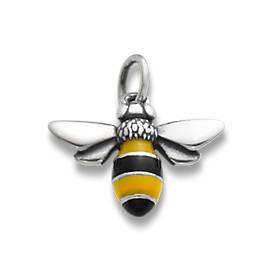 Enamel Bumble Bee Charm