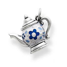 Enamel Teapot Charm
