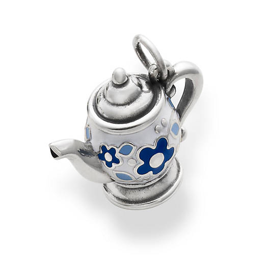 View Larger Image of Enamel Teapot Charm