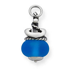 Anchor Finial with Blue Charm