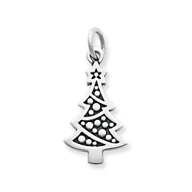 Adorned Christmas Tree Charm