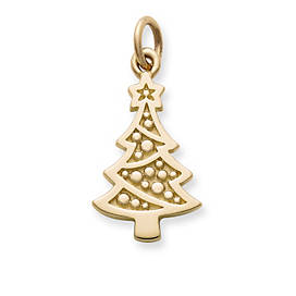 Adorned Christmas Tree Charm