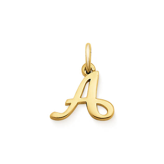 View Larger Image of Script Initial Charm