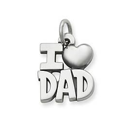 I Love Dad Charm