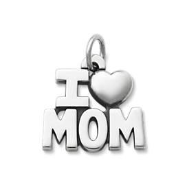I Love Mom Charm